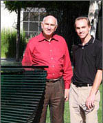 Dr. Don Catlin and Oliver Catlin